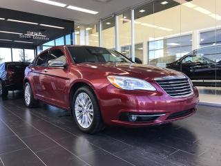 Used 2012 Chrysler 200 Limited, Accident Free, Navigation for sale in Edmonton, AB