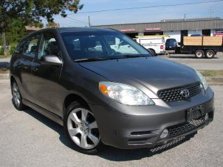 Used 2004 Toyota Matrix XR for sale in Mississauga, ON
