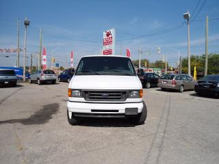 Used 2006 Ford E-250 AUTO EXTENDED CARGO LOW KM NO RUST 4 NEW TIRES CAM for sale in Oakville, ON