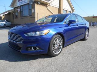 Used 2013 Ford Fusion SE 2.0L EcoBoost Leather Sunroof Navigation 67Km for sale in Etobicoke, ON