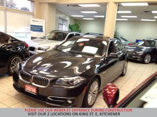 Used 2014 BMW 528 i xDrive | NAVIGATION | H/K SOUND | CAMERA | for sale in Kitchener, ON