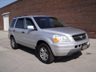 Used 2004 Honda Pilot EX MODEL-LOADED,8 PASSENGER,GREAT SUV for sale in North York, ON