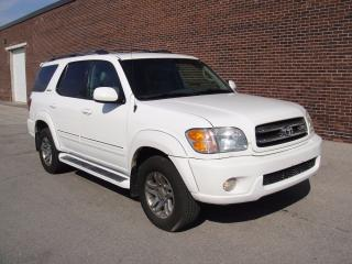 Used 2003 Toyota Sequoia LIMITED!!-EVERY OPTION,REAR DVD,NO ACCIDENTS for sale in North York, ON