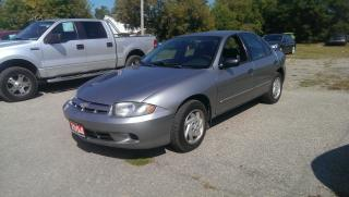 Used 2004 Chevrolet Cavalier VL for sale in Cambridge, ON