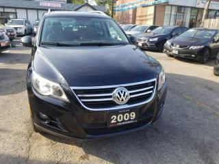 Used 2009 Volkswagen Tiguan Highline NO ACCIDENTS AWD LEATHER PANORAMA ROOF for sale in Brampton, ON