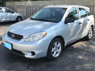 Used 2007 Toyota Matrix for sale in Kars, ON