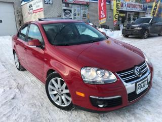 Used 2010 Volkswagen Jetta Wolfsburg w/NAVI_SUNROOF_REMOTE START for sale in Oakville, ON