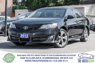 Used 2012 Toyota Camry SE NAVI Sunroof BackupCam Leather for sale in Scarborough, ON