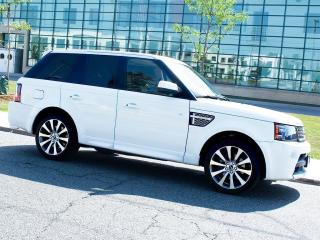 Used 2012 Land Rover Range Rover Sport SPORT|SC|AUTOBIOGRAPHY|NAVI|36- CAMERA|DUAL DVD for sale in Scarborough, ON
