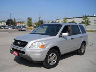 Used 2004 Honda Pilot 8 passenger, Leather, certify, Automatic, 3/Y avai for sale in North York, ON