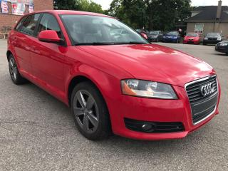 Used 2009 Audi A3 2.0T/ONE OWNER/NO ACCIDENT/SAFETY/WARRANTY INCL for sale in Cambridge, ON