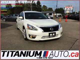 Used 2014 Nissan Altima SL+GPS+Camera+Leather+Blind Spot & Lane Departure+ for sale in London, ON