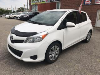 Used 2013 Toyota Yaris LE/ONE OWNER/NO ACCIDENT/SAFETY/WARRANTY INCLUDED for sale in Cambridge, ON
