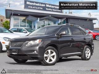 Used 2010 Lexus RX 350 AWD PREMIUM PKG |BLUETOOTH|REMOTE STARTER|FOGS for sale in Scarborough, ON