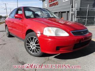 Used 1999 Honda CIVIC EX-G 4D SEDAN for sale in Calgary, AB