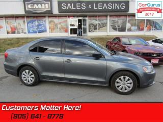 Used 2013 Volkswagen Jetta TRENDLINE  FRONT WHEEL DRIVE, POWER GROUP for sale in St Catharines, ON