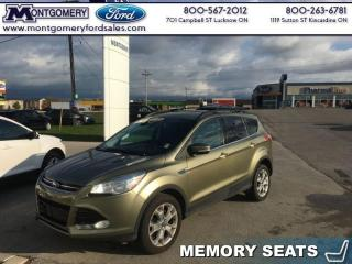 Used 2013 Ford Escape SEL  - Leather Seats -  Bluetooth for sale in Kincardine, ON