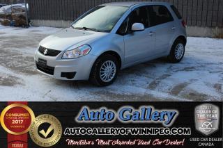 Used 2012 Suzuki SX4 Hatchback JA *Low Kms! for sale in Winnipeg, MB