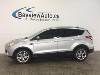 Used 2015 Ford Escape TITANIUM- 4WD|ECOBOOST|PANOROOF|HTD LTHR|NAV|SONY! for sale in Belleville, ON