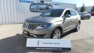 Used 2016 Lincoln MKX Reserve for sale in Stratford, ON
