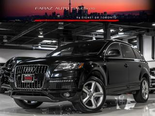 Used 2013 Audi Q7 TDI|S-LINE|B.SPOT|B&O|NAVI|360 CAM|LOADED for sale in North York, ON