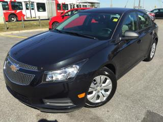Used 2014 Chevrolet Cruze AUTO, POWER WINDOWS, LOCKS, MIRROR LOW MILES!!! for sale in Ottawa, ON