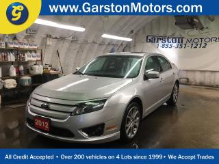 Used 2012 Ford Fusion SE*POWER SUNROOF*MICROSOFT SYNC*POWER DRIVER SEAT*FOG LIGHTS*KEYLESS ENTRY*SONY AUDIO*POWER WINDOWS/LOCKS/HEATED MIRRORS*ALLOYS*T for sale in Cambridge, ON