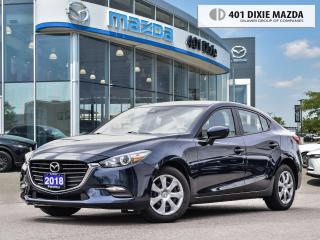 Used 2018 Mazda MAZDA3 GX ONE OWNER1.99% FINANCE AVAILABLE for sale in Mississauga, ON