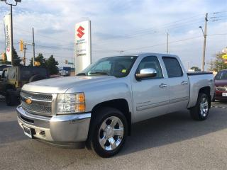 Used 2012 Chevrolet Silverado 1500 LT Crew 4X4 ~Chrome Wheels ~Tonneau Cover for sale in Barrie, ON