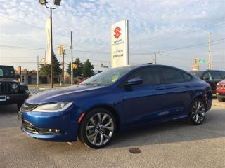 Used 2015 Chrysler 200 S ~All-Wheel Drive ~9-Speed ~Nav ~RearView Camera for sale in Barrie, ON