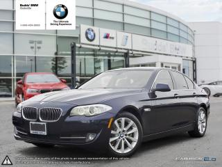 Used 2013 BMW 528 i xDrive AWD | NAV | SUNROOF | RV CAMERA for sale in Oakville, ON