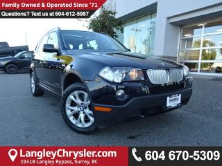 Used 2009 BMW X3 xDrive30i *ACCIDENT FREE*ONE OWNER*LOCAL BC CAR* for sale in Surrey, BC