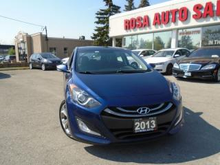 Used 2013 Hyundai Elantra GT PANAROMIC SUNROOF AUX  USB IPOD BLUETOOTH/ PHON for sale in Oakville, ON
