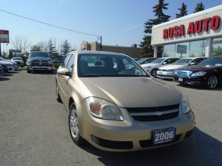 Used 2006 Chevrolet Cobalt LT NO RUST ALLOY P WINDOWS LOCKS SAFETY for sale in Oakville, ON