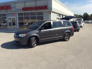 Used 2017 Dodge Grand Caravan SXT Premium Plus for sale in Owen Sound, ON