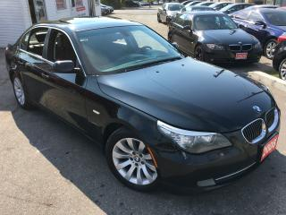 Used 2008 BMW 5 Series 528i/AUTO/LEATHER/ROOF/ALLOYS/CLEAN for sale in Scarborough, ON