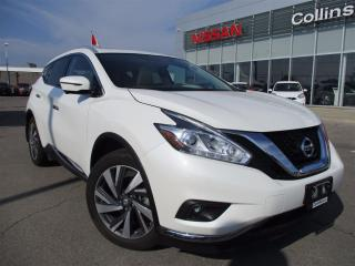 Used 2017 Nissan Murano Platinum | ALLOYS | NAVI | 20 INCH WHEELS | for sale in St Catharines, ON