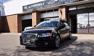 Used 2009 Audi A3 2.0T S-LINE QUATTRO AWD NO ACCIDENT PANO  LEATHER for sale in Mississauga, ON