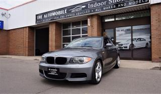Used 2009 BMW 135i 1 SERIES COUPE NO ACCIDENT LEATHER SUNROOF for sale in Mississauga, ON