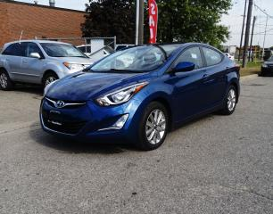 Used 2016 Hyundai Elantra Sport.Backup Cam.Sunroof.Low kms. for sale in Brampton, ON