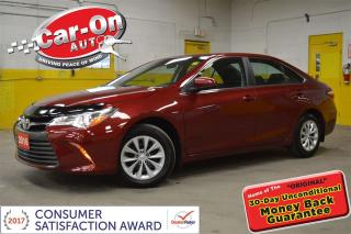 Used 2016 Toyota Camry LE POWER GROUP REAR CAM BLUETOOTH LOADED for sale in Ottawa, ON