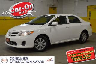 Used 2013 Toyota Corolla CE AUTO CRUISE HEATED SEATS ONLY 28,000KMS for sale in Ottawa, ON