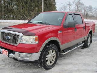 Used 2004 Ford F-150 LARIAT SuperCrew 4WD for sale in Brockville, ON