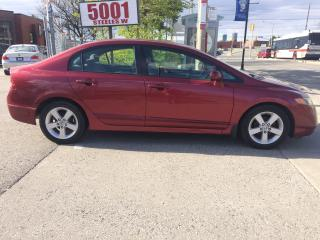 Used 2007 Honda Civic NICE DRIVE,$4488,SAFETY+3YEARS WARRANTY INCLUDED for sale in North York, ON