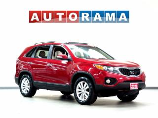 Used 2011 Kia Sorento EX AWD LEATHER SUNROOF BACKUP CAM for sale in North York, ON