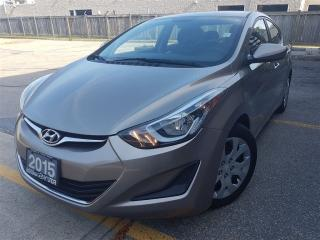 Used 2015 Hyundai Elantra GL-new tires-new brakes-super clean for sale in Mississauga, ON