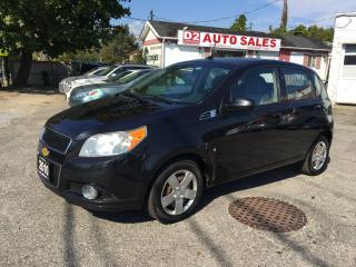 Used 2010 Chevrolet Aveo LT/Sunroof/Power Options/Gas Saver/Certified for sale in Scarborough, ON