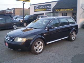 Used 2004 Audi Allroad 2.7T ALLROAD! LOADED! RARE! for sale in Etobicoke, ON