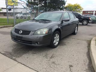 Used 2005 Nissan Altima WELL KEPT,SAFETY+3YEARS WARRANTY INCLUDED for sale in North York, ON