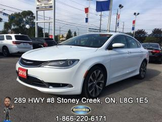 Used 2016 Chrysler 200 C...200/10 PEOPLE LOVE THIS CAR!!! for sale in Stoney Creek, ON